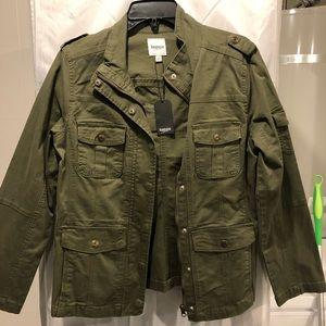 Kensie green jacket